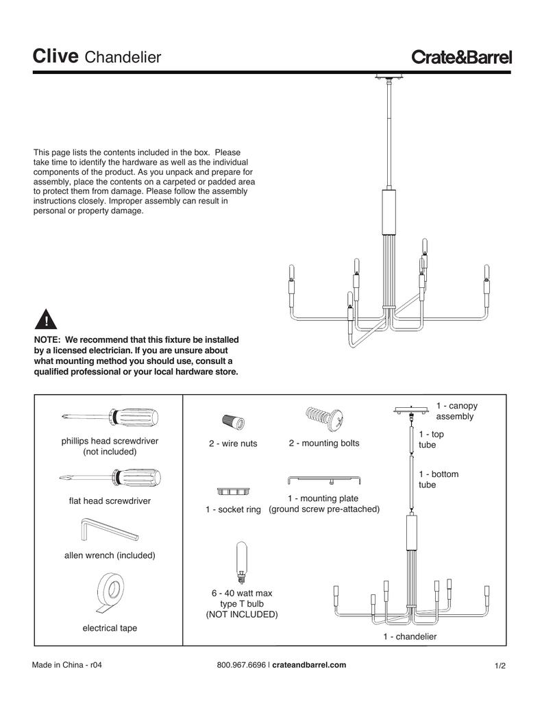 medium resolution of chandelier canopy diagram