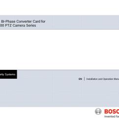 bosch ptz camera wiring diagram on ip camera installation diagram ocular 12ex camera connection diagram  [ 1024 x 791 Pixel ]