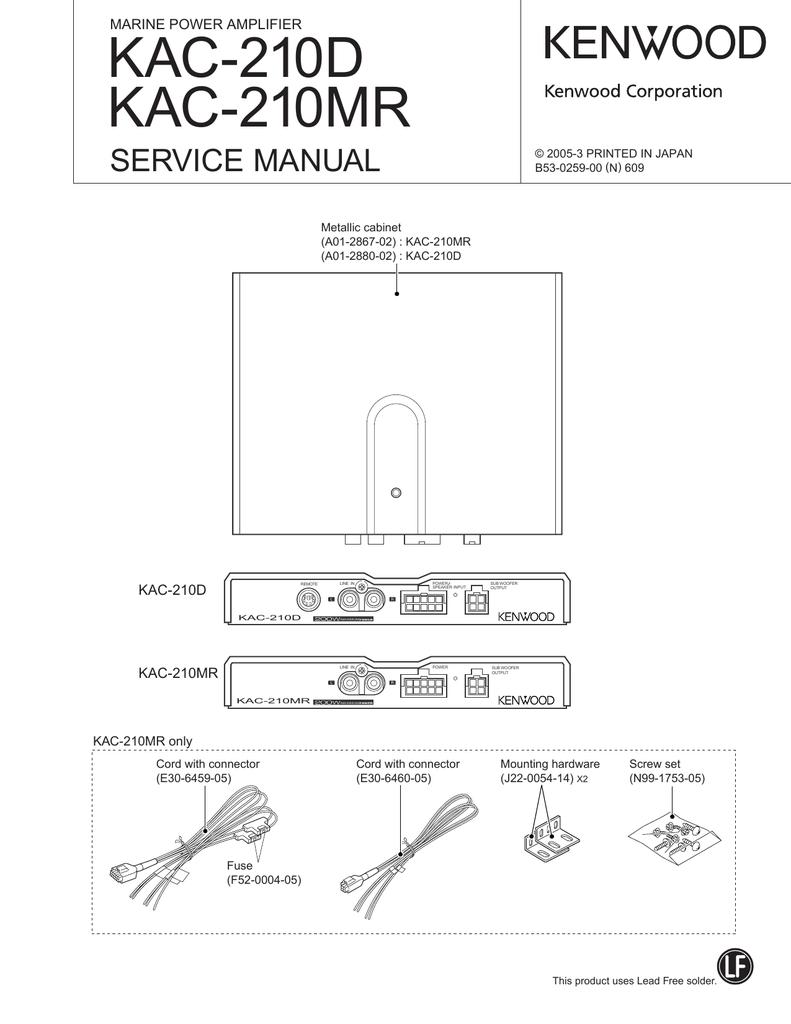 medium resolution of kenwood amp kac 720 stereo power amp 10 pin diagram detailed kenwood kac 720 wiring harness diagram stereo power amp