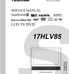 toshiba lcd tv dvd 14dlv75 printed circuit board diagram electrical dvd 14dlv75 printed circuit board diagram electrical schematic and [ 791 x 1024 Pixel ]