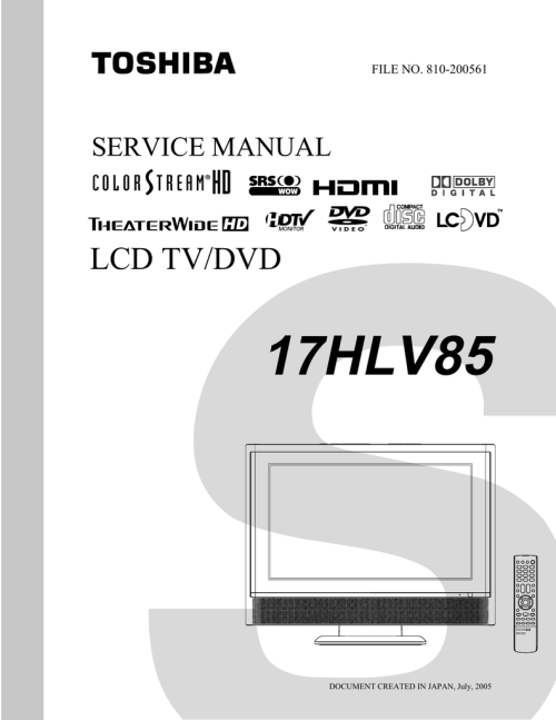 small resolution of toshiba lcd tv dvd 14dlv75 printed circuit board diagram electrical dvd 14dlv75 printed circuit board diagram electrical schematic and