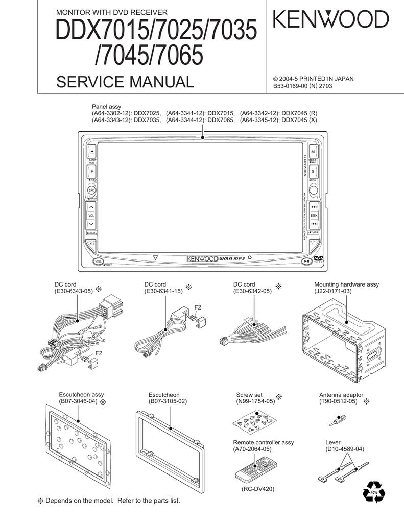 medium resolution of ddx7015 wiring diagram wiring diagram view kenwood ddx7015 wiring diagram