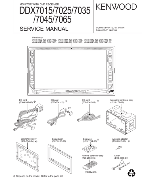small resolution of ddx7015 wiring diagram wiring diagram view kenwood ddx7015 wiring diagram