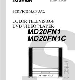 md20fn1 md20fn1c color television dvd video player manualzz com toshiba lcd tv dvd 14dlv75 printed circuit board diagram electrical schematic and wiring [ 791 x 1024 Pixel ]