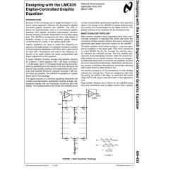 designing with the lmc835 digital controlled graphic equalizer band graphic equalizer circuit diagram design using lmc835 [ 791 x 1024 Pixel ]