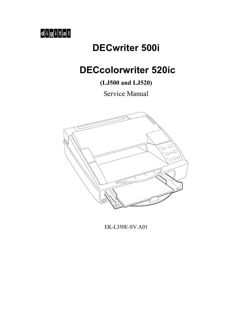 DECWRITER 500I DRIVER DOWNLOAD