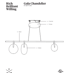gala chandelier 42 and 72 series a cross bar c canopy [ 791 x 1024 Pixel ]