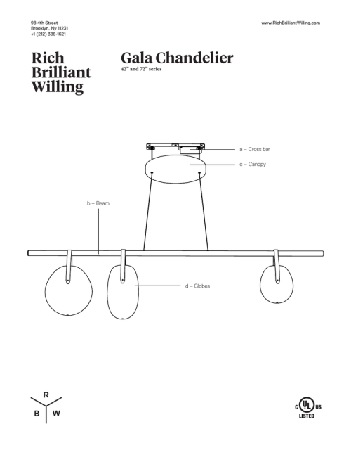 small resolution of gala chandelier 42 and 72 series a cross bar c canopy
