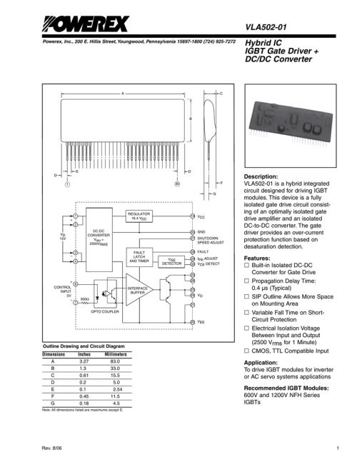 small resolution of vla502 01 hybrid ic igbt gate driver dc dc converter