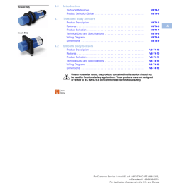 capacitive proximity sensors 4 4 0 introduction manualzz com wiring diagram also inductive proximity switch on 30 cutler hammer [ 791 x 1024 Pixel ]