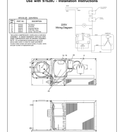 220v supplemental sheet use with 97628c installation instructions 220v wiring diagram [ 791 x 1024 Pixel ]
