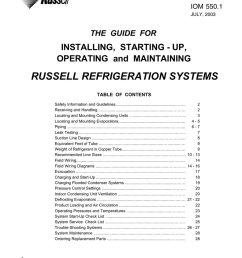 russell refrigeration systems installing starting up  [ 791 x 1024 Pixel ]