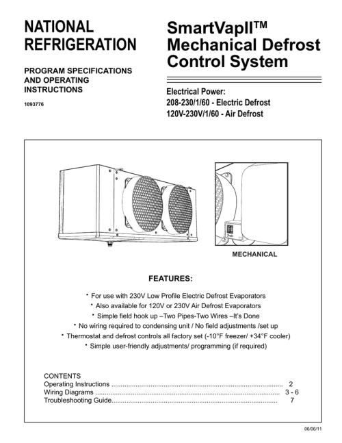 small resolution of national smartvapii refrigeration