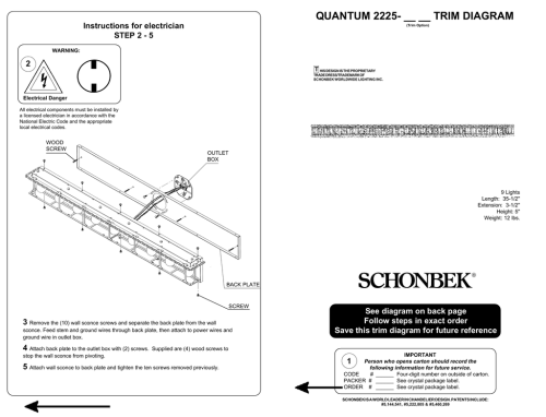 small resolution of quantum 2225 trim diagram instructions for electrician 2