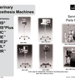 veterinary anesthesia machines vms plus [ 1024 x 791 Pixel ]