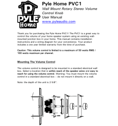 wiring diagram pyle volume control trusted wiring diagram 70v speaker wiring diagram home speaker wiring volume [ 791 x 1024 Pixel ]