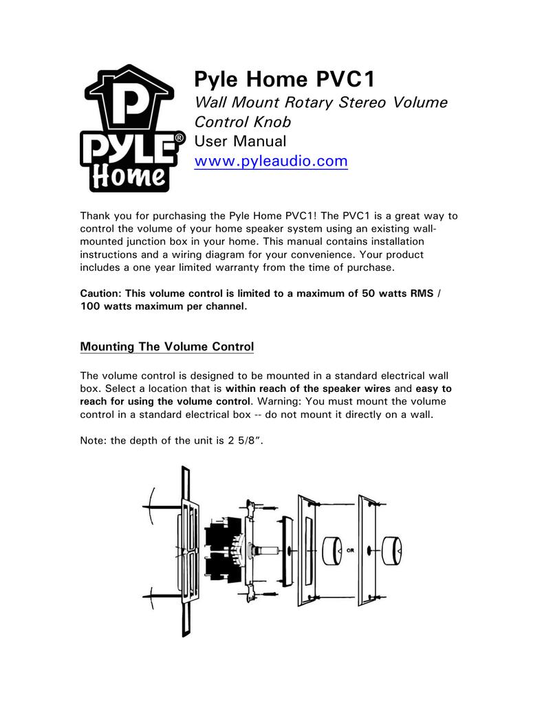 medium resolution of wiring diagram pyle volume control trusted wiring diagram 70v speaker wiring diagram home speaker wiring volume