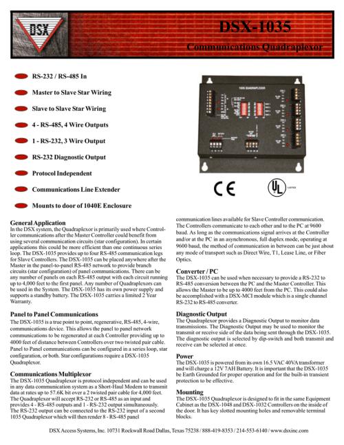 small resolution of dsx 1035 communications quadraplexor manualzz com dsx 1048 wiring diagram
