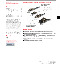 inductive proximity sensors 4 35 global plus prox manualzz com wiring diagram also inductive proximity switch on 30 cutler hammer [ 791 x 1024 Pixel ]