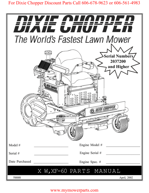 small resolution of for dixie chopper discount parts call 606 678 9623 or 606 561 4983 serial numbers 2037200