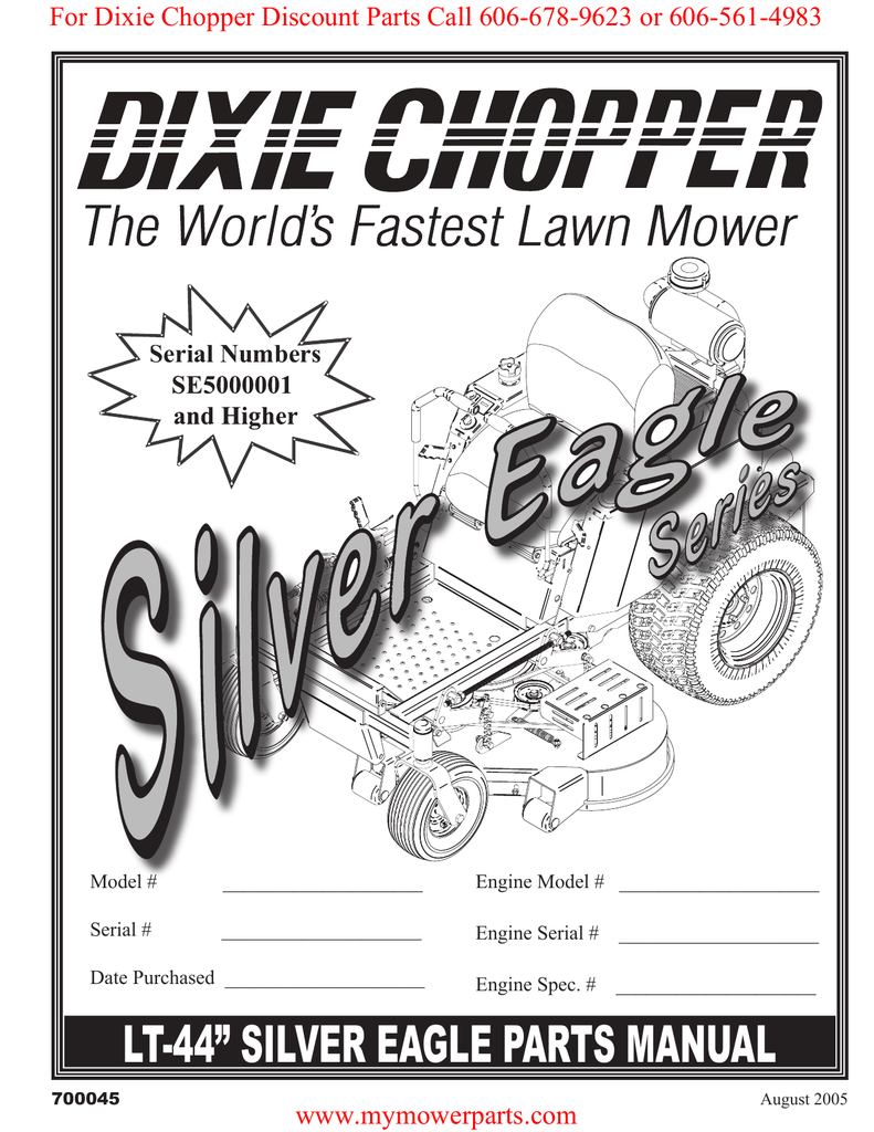 hight resolution of for dixie chopper discount parts call 606 678 9623 or 606 561 4983 serial numbers se5000001