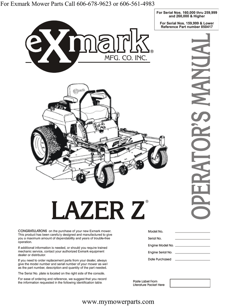hight resolution of www mymowerparts com for exmark mower parts call 606 678 9623 or 606 561 4983