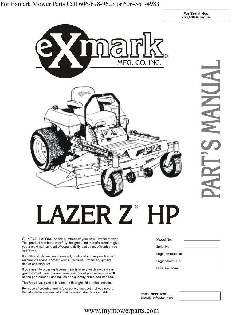 5/8 bolt hole Viking Exmark Mower Mulch Deck Blades Lazer