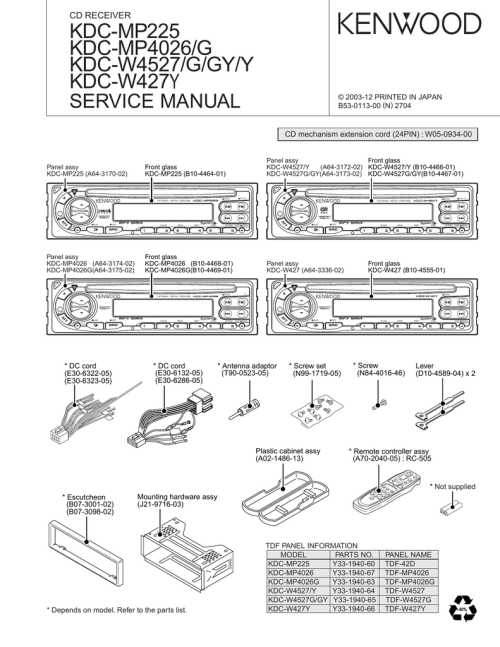 small resolution of wiring diagram for kenwood kdc mp225 wiring diagram forward wiring diagram for kenwood kdc mp225