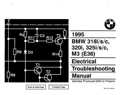small resolution of bmw 318i s c 320i 325i s c m3 e36 1995