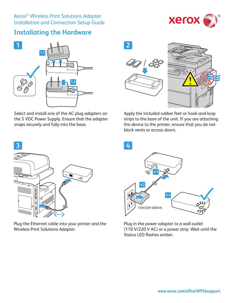 medium resolution of xerox wireless print solutions adapter