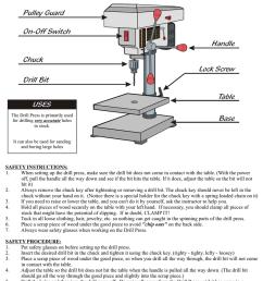 drill press safety test [ 791 x 1024 Pixel ]