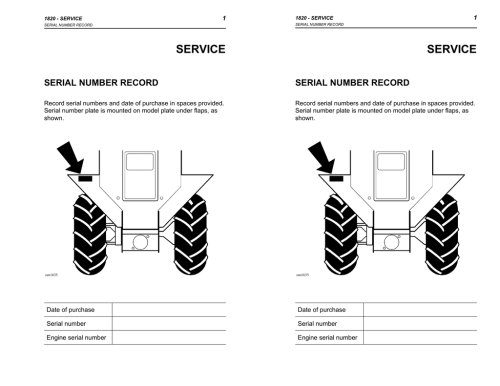 small resolution of ditch witch 1820 operators manual