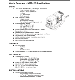 mobile generator mmg120 specifications [ 791 x 1024 Pixel ]