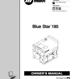 blue star 185 miller welding [ 791 x 1024 Pixel ]