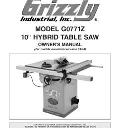 model g0771z 10 hybrid table saw [ 791 x 1024 Pixel ]