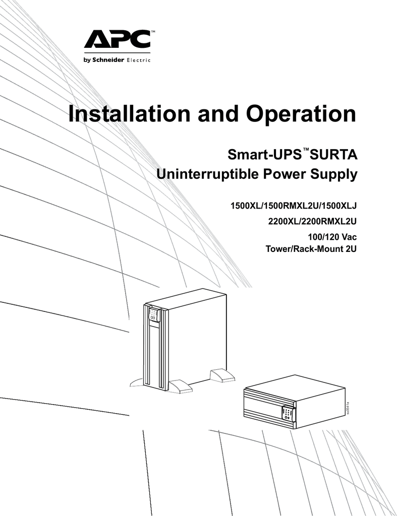medium resolution of smart ups surta 1500xl 2200xl 100 120v twr rm2u