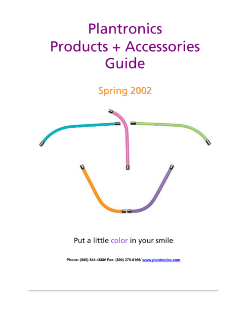 small resolution of plantronics products accessories guide nedco