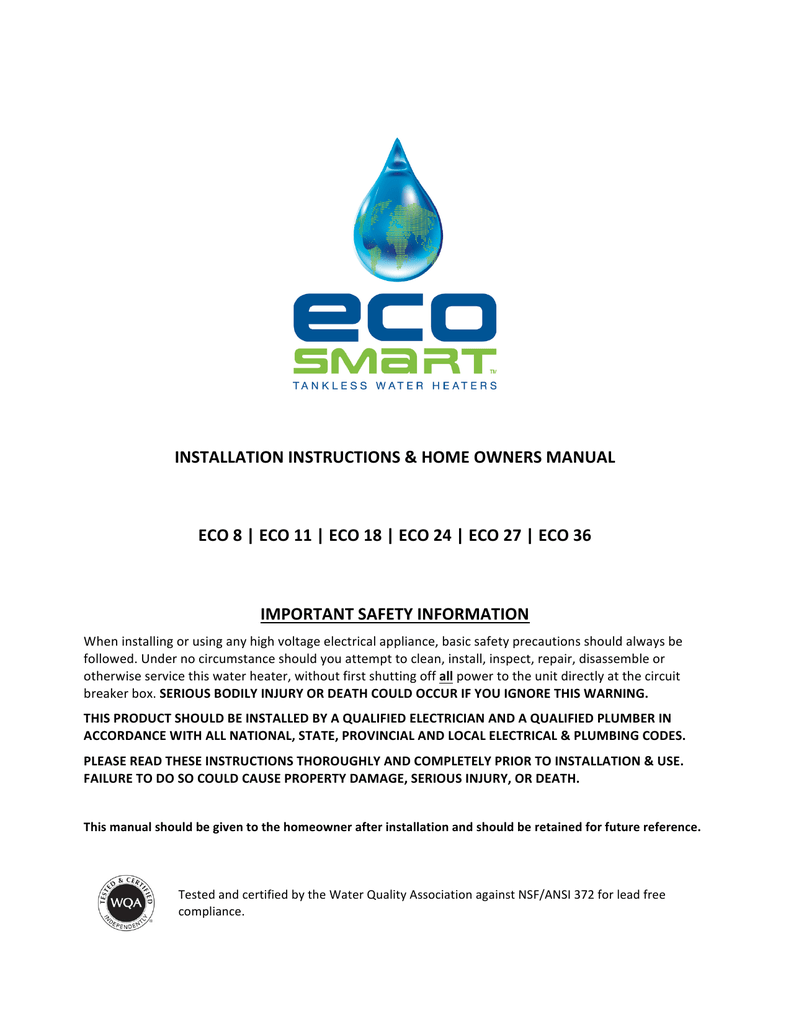 medium resolution of  diagram english ecosmart tankless water heaters manualzz com on atwood water heater wiring