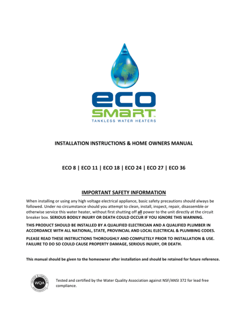 small resolution of  diagram english ecosmart tankless water heaters manualzz com on atwood water heater wiring