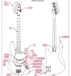fender deluxe active jazz bass service manual [ 791 x 1024 Pixel ]