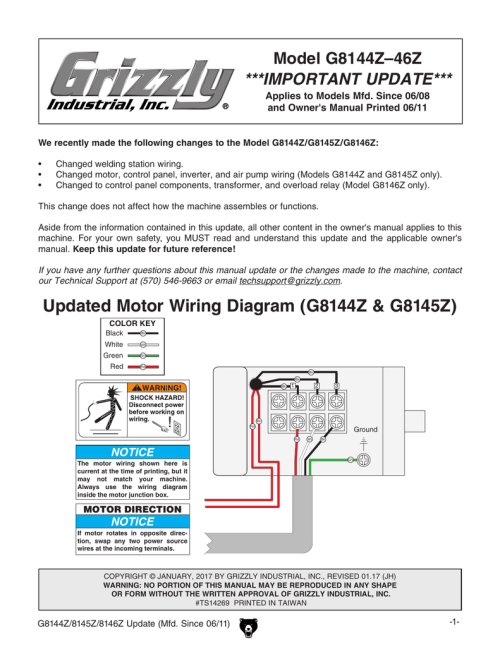 small resolution of manual pdf grizzly industrial