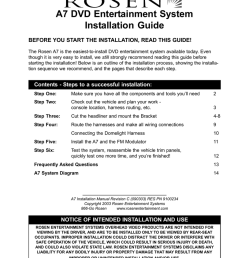 a7 dvd entertainment system installation guide [ 791 x 1024 Pixel ]