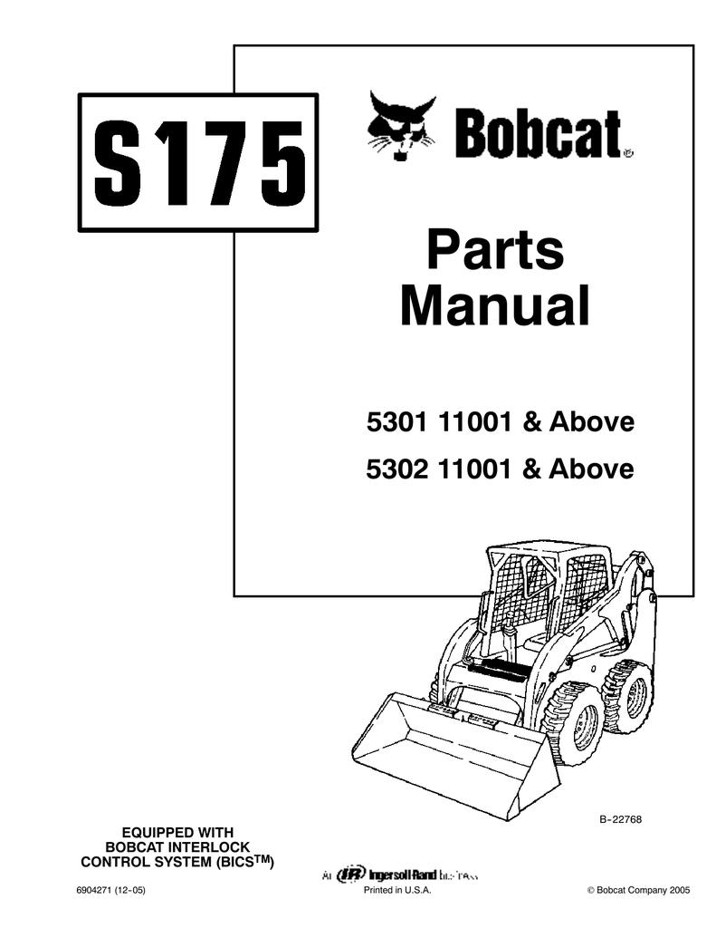 hight resolution of bobcat 773 parts manual online www topsimages com