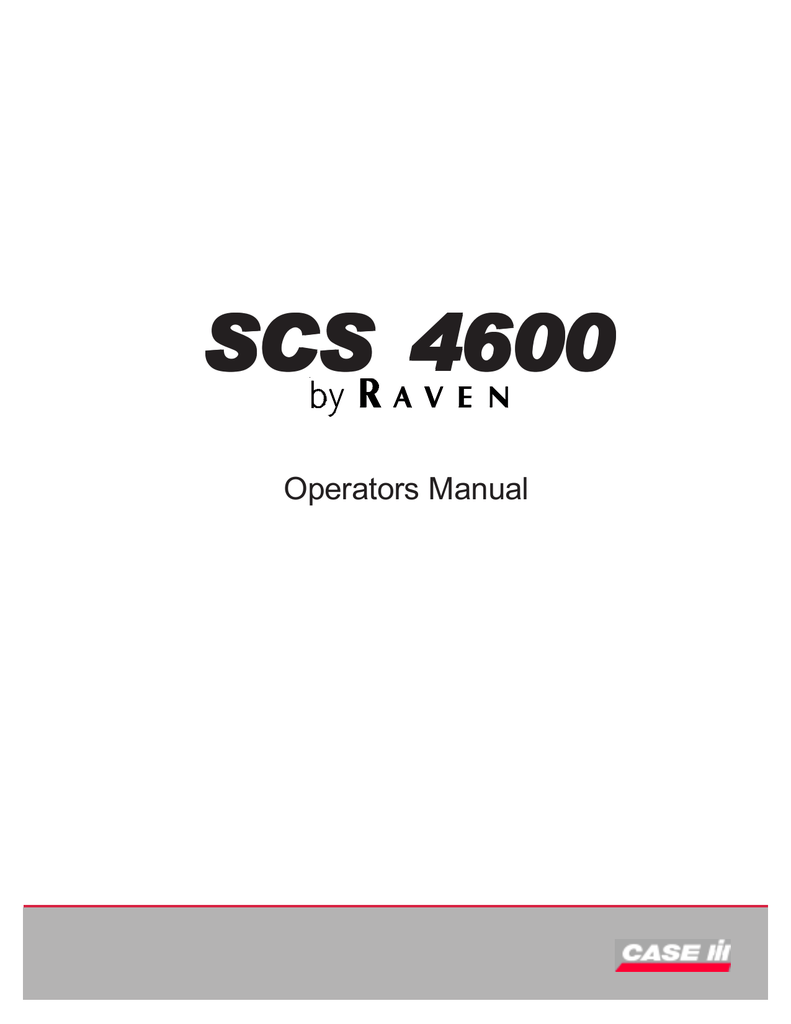 hight resolution of scs 4600 raven help