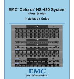 emc celerra ns 480 system four blade installation guide [ 791 x 1024 Pixel ]