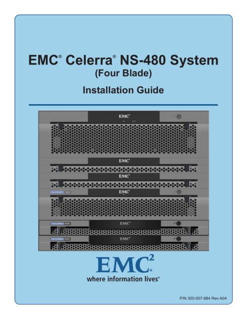 small resolution of emc celerra ns 480 system four blade installation guide