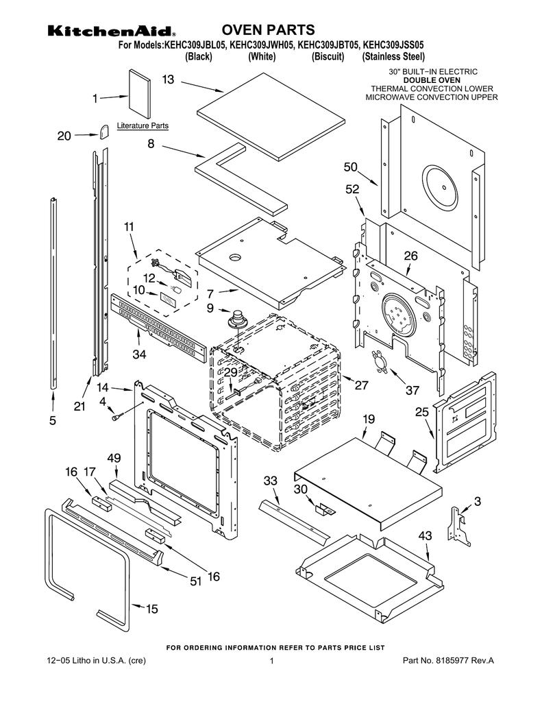 oven parts manualzz