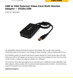 usb to vga external video card multi monitor adapter 1920x1200 [ 791 x 1024 Pixel ]