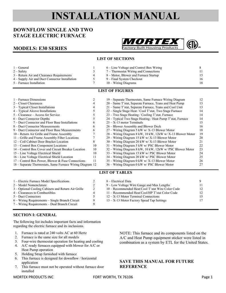 hight resolution of mortex manualzz com mortex furnace wiring diagram