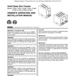 toastmaster wiring diagram wiring diagram imp toastmaster wiring diagram [ 791 x 1024 Pixel ]